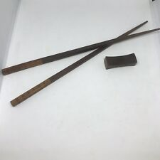 1 Pair Of Rare Authentic Louis Vuitton Chopsticks & Rest
