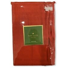 "KATE SPADE NEW YORK Tablecloth Christmas Theme Natural 70"" Round Red"