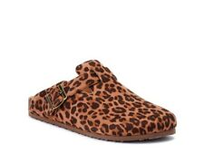 Time And Tru Leopard Clogs Size 7 Nwt
