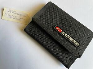 Vintage Alpinestars Black Nylon Wallet - New Old Stock - Free Post