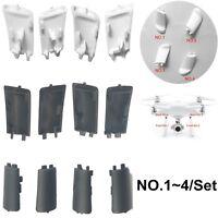 4pcs/set Landing Gear Antenna Cover Shell Repair for DJI Phantom 4 4 Pro Drone