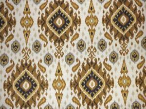 Mill Creek Ikat Medallion Southwest SANDSTORM Home Decor Drapery Sewing Fabric