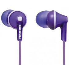 Panasonic RP-HJE125E In-Ear Wired Headphones - Purple