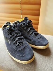 G Star Raw Mens Suede Navy Sneakers Shoes US 12 EU 45 UK 11