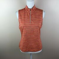 Tail Tech Golf Small Womens Orange Sleeveless Top