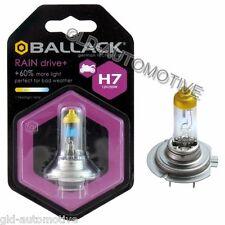 Lampadina Moto Alogena Rain H7 12V 55W BALLACK +60% luce effetto Xenon Giallo