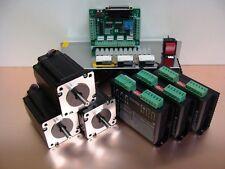Nema23 Stepper Motor Kit 3.1Nm x 3 Axis DIY CNC Parts Milling Router Lathe Hobby