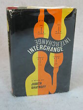 Judith Shatnoff  INTERCHANGE  Alfred A. Knopf c. 1962 HC/DJ
