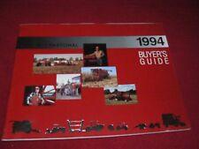 Case International 1994 Buyer's Guide Dealer's Brochure AE-053014