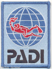 Diver Embroidered Iron on Patch, Padi Divers, Scuba Diving, Diving Badge