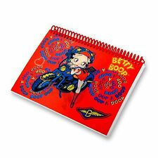 Betty Boop Red Motorcycle Lenticular Notebook 4x6in 144 Page #BB-205-NB#