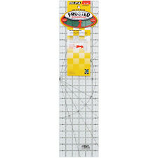 """Olfa Non Slip Frosted Quilting Patchwork Ruler 6"""" x 24"""""""