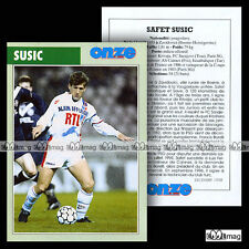 SUSIC SAFET (FC SARAJEVO, PSG PARIS SAINT-GERMAIN) 80's - Fiche Football (1998)