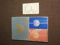 VINTAGE AAA AUTOMOBILE CLUB MISSOURI 2 DECKS PLAYING CARDS IN BOX
