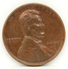 1955 DOUBLE STRIKE ERROR ON OBVERSE 1C ONE CENT US WHEAT PENNY 10032-9