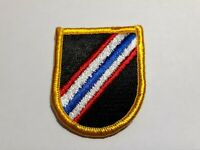 US ARMY 46TH SPECIAL FORCES COMPANY AIRBORNE BERET FLASH M/E THAILAND
