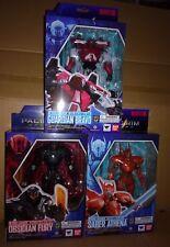 Bandai Robot Spirits Pack 3 Figures Pacific Rim Uprising Fury Athena Bravo