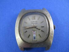 WITTNAUER MENS JUBILEE 70`S AUTOMATIC CALENDAR WATCH TO RESTORE FOR PARTS