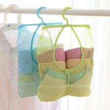 New Foldable Pop Up Washing Clothes Laundry Basket Bag Bin Hamper Mesh Storage