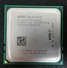AMD Opteron 8439 SE OS8439YDS6DGN 6Core Hexa Core 6M/L3 135W/TDP Tested Working