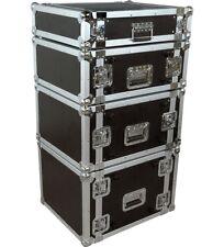 Musician's Gear Rack Flight Case 6 Space Black