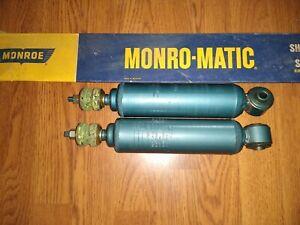 MONROE FRONT SHOCK ABSORBERS - FITS: JAGUAR 420G & MK10 / MKX (1961-70)