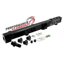 AEM Black High Volume Fuel Rail 1992-2001 Honda Prelude - H22A H23 DOHC Engines