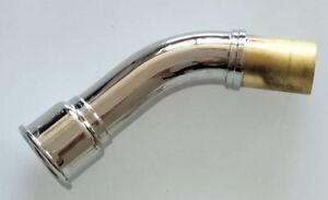 Excellent Alto clarinet neck Nickel plating