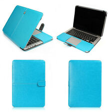 "PU Leather Laptop Sleeve Bag Case Cover for MacBook 12"" Air Pro Retina 11 13 15"