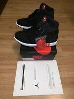 """New Nike Air Jordan 1 Retro High Mens Size 8.5 """"Paris Saint Germain"""" AR3254-001"""