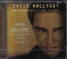 David Hallyday-Un Paradis Un Enfer cd Album sealed