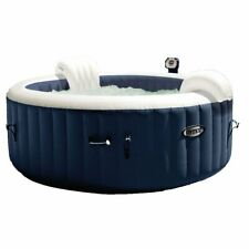 Intex PureSpa 4 Person Home Inflatable Portable Heated Bubble Round Hot Tub