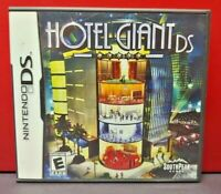 Hotel Giant  - Nintendo DS DS Lite 3DS 2DS Game Complete + Tested
