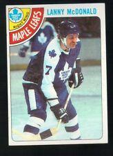 1977 - 1978 Topps Hockey Set LANNY McDONALD Card