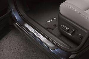 Set of 4 Genuine Toyota Door Sill Enhancements for 2014-2017 Rav4-New-OEM