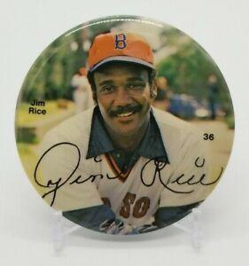 "Jim Rice 1978 Boston Red Sox Sports Photo Associates 3"" Pinback Button Pin MLB"
