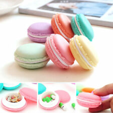 Pack of 6 Colorful Mini Macaron Shape Storage, Jewellery Storage Box, Pill Case