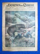 La Domenica del Corriere 23 luglio 1922 Fiocchi Roma - Hendon - Palio di Siena