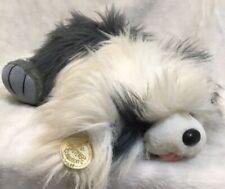 "Ganz Heritage Collection GOOGLES Dog Sheepdog Plush 18"" 1988 Original Hang Tag"