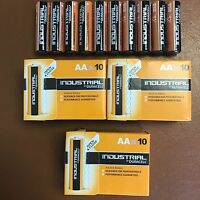 30 DURACELL INDUSTRIAL AA Batteries Professional ALKALINE Replaces PROCELL AA