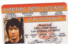 Martial ARTS license - Karate - plastic ID card Drivers License -