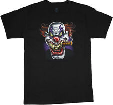 Big and Tall t-shirt evil scary clown cigar big men tee king size clothing mens