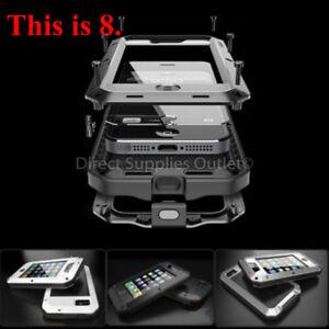 SHOCKPROOF Case Waterproof Metal Aluminum Gorilla Armor Cover For iPhone 8/8Plus
