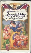 Snow White and the Seven Dwarfs 1937 VHS - Rated G Adriana Caselotti, Harry Stoc