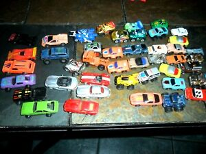 43 LOT Micro Machines 1987 Galoob 4x4 Hot Wheels Monogram Pixar Ball Racers ++