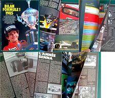 Saison FORMULE 1 1985 Article 15 PAGES ! magazine Sport auto F1 Gérard Crombac