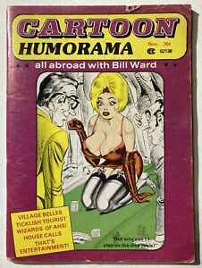 Cartoon Humorama #2 - November 1977 - Bill Ward art - Rare - VG/FN