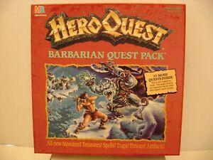 Hero Quest BARBARIAN Quest Pack - EUC - 100% COMPLETE & ORIGINAL - UNPAINTED