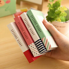 Sticky Notes Notebook Memo Pad Bookmark Paper Sticker Notepad Office Bluelans