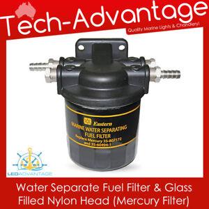 BN Boat Marine Fuel Filter Water Separating Kit Mercury 35-60494-1 & 35-807172